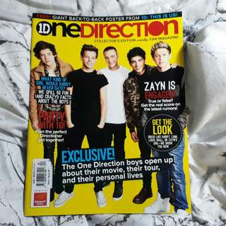 One Direction Candy and Chalk Limited Edition Magazines