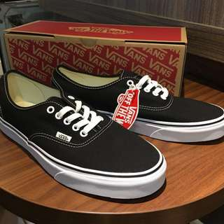 Vans Authentic Classic Black White Original
