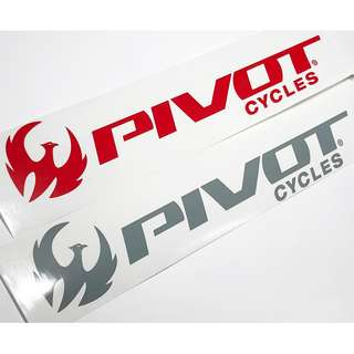 Pivot Cycles Die Cut Decals