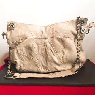 Lambskin leather sling bag 羊仔皮手袋