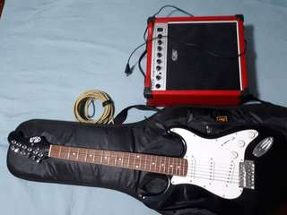 Electric Guitar Complete Set