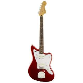 Squier Vintage Modified Jazzmaster Electric Guitar, Candy Apple Red