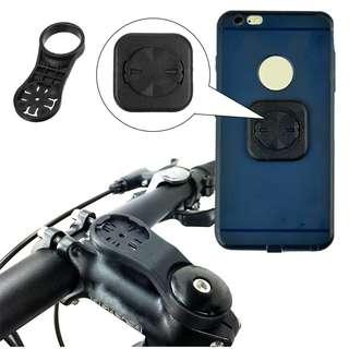 Phone & Garmin GPS Bike Stem Alloy Mount