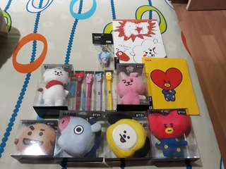 INSTOCK Authentic BT21 products