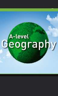 Crash course for A'level Geography Prelim