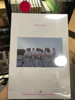 Twice one in a million photo book