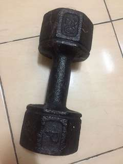 Dumbell 20 pounds