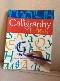 Calligraphy Book for Kids