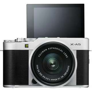 Fujifilm X-A5 Mirrorless Digital 15-45mm Kredit Proses cepat tanpa CC