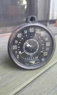 🚚 早期車用行車記錄器,發條鐘