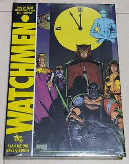 The Watchmen Graphic Novel Hardbound New and Sealed