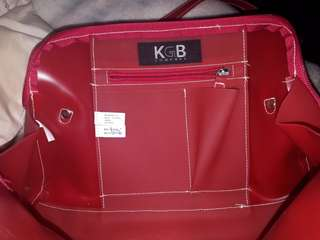 KGB company red bag