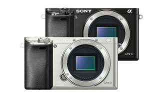 Sony Alpha A6000 Body Only + SEL 35mm f1.8 Kredit proses cepat