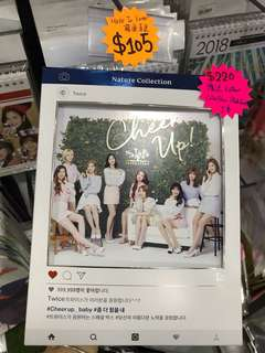 Twice cheer up box nature collection photobook