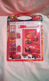 Disney PIXAR Cars Stationary Set