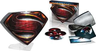 Man of Steel Limited Edition Collectors Edition Bluray boxset