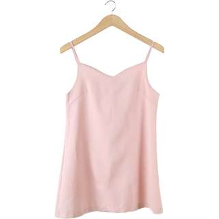 Pomelo Pink Sleeveless Mini Dress