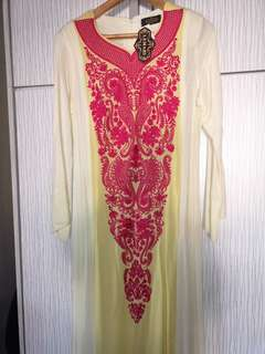 Embroidered Jubah/ dress