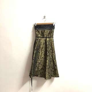Golden Tube Dress
