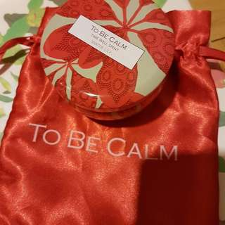 To Be Calm Water Lily Soy Candle