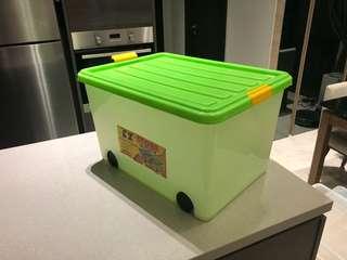 Plastic Container / Storage Box 54.5x33x39.5cm (LxHxD)