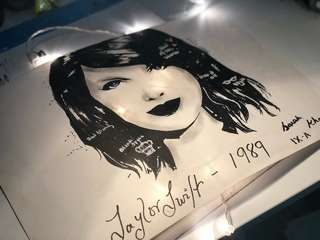 Taylor swift A3 size sketch 👩🏽‍🎨