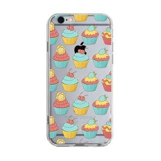 歡樂cupcake iPhone X 8 7 6s Plus 5s Samsung S7 S8 S9 plus 手機殼