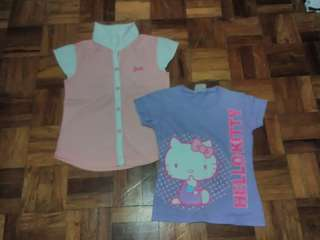 Hello kitty and Barbie T-shirt