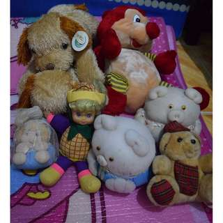 Set of Stuffed Toys