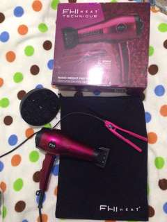 FHI Beand Technique Nano Weight Pro 1850 Tech Hair Dryer with Mini Ceramic Styling Iron