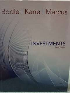 Investments Tenth Edition by Bodie Kane Marcus