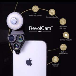 Revol Cam! Fish lens, wide angle, macro and light!