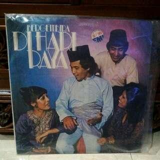 Lp...Vinyl... Bergembira Di Hari Raya (Hail Amir, Uji Rashid, Sharifah Aini & Dj Dave)