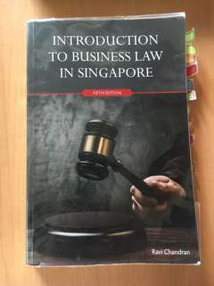 Introduction To Business Law In Singapore BSP1702 / BSP1002