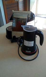 Caffitaly Pod Coffee Capsule Espresso Machine & Milk Frother