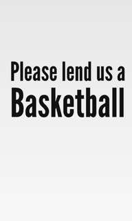 NEED BASKETBALL