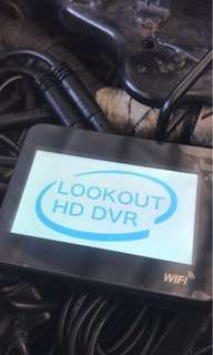 Lookout S1 WiFi with Sony lens installed on Ktm duke 200
