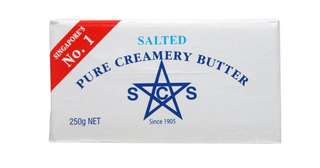 SCS Butter salted 250g