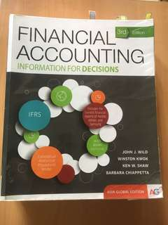 Financial Accounting Textbook ACC1701 / ACC1002