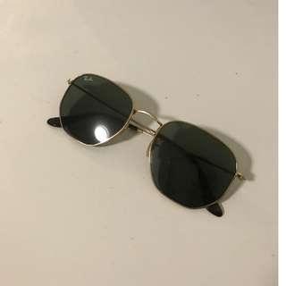 Hexagonal Rayban Sunglasses