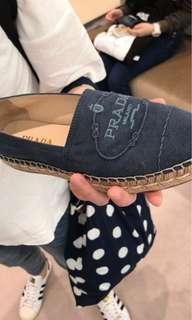 Prada 草鞋