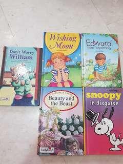 5 ladybird books