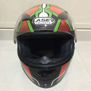 LAZER HELMET FOR SALE