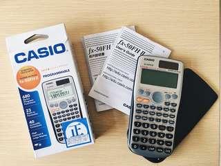 DSE計數機 Casio fx-50FH II (2)