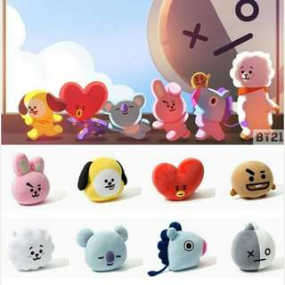 BT21 PRICE LIST