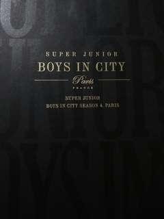 Boys in the City in Paris