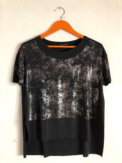 ZARA ABSTRACT SHIRT