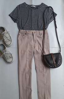 Accent Soft Brown Pants