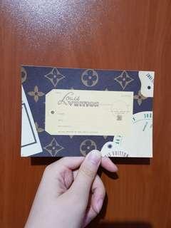 Louis Vuitton Malletier AUTHENTIC Postcards