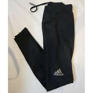 Adidas Tights With Ankle Opening Zips
